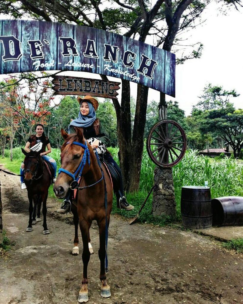 wisata De Ranch bandung dan harga tiket masuk